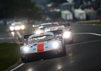 Kevin Estre), Michael Christensen, Richard Lietz siegen in Spa © Porsche AG