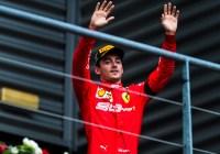 Charles Leclerc konnte sich über seinen ersten Formel 1 Sieg nicht freuen © Ferrari Media