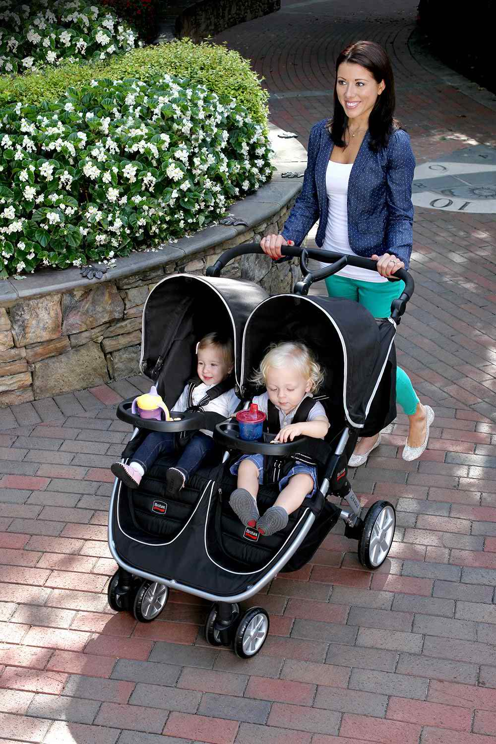 Britax Double Pushchair Reviews Britax B Agile Double Stroller Review