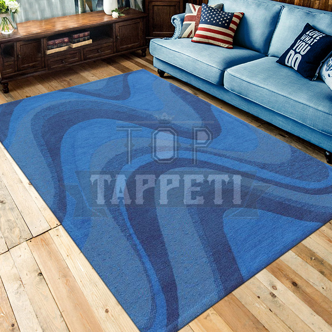 Tappeto Moderno Ingresso Blu Azzurro Top Tappeti Official Website