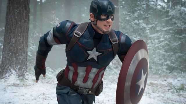 Captain America and his shield