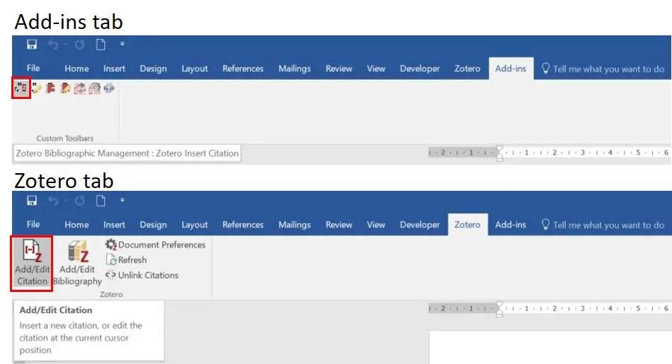 How To Insert Citations Using Zotero In Microsoft Word - Top Tip Bio