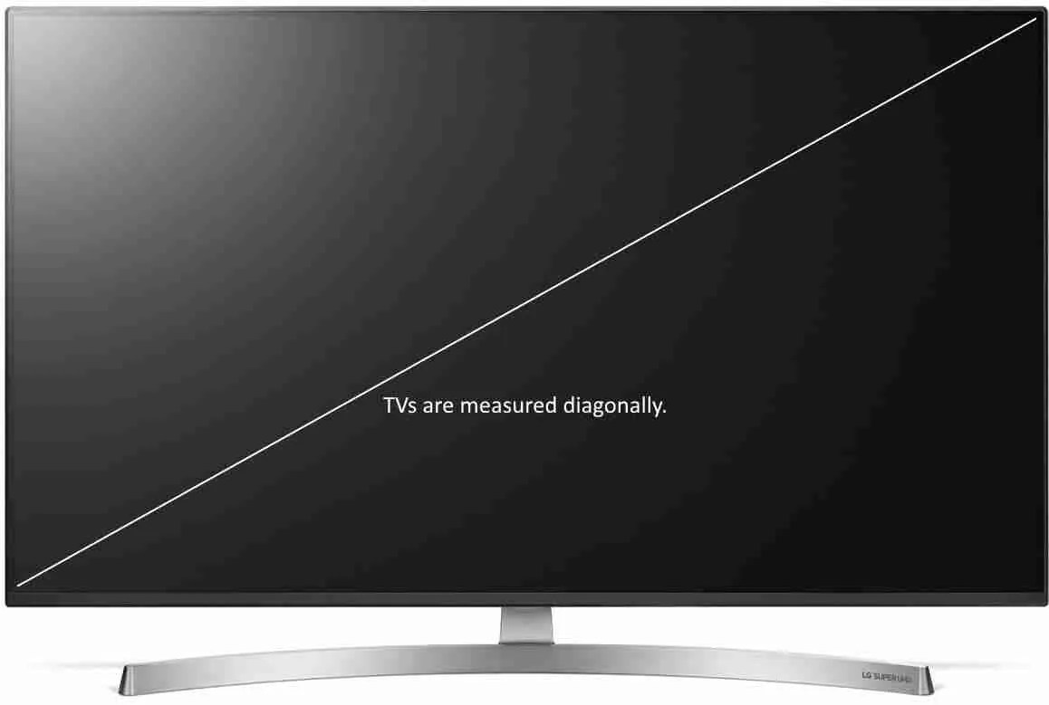 65inch Tv Dimensions Tv Screen Height And Width Dimensions And Viewing Distances