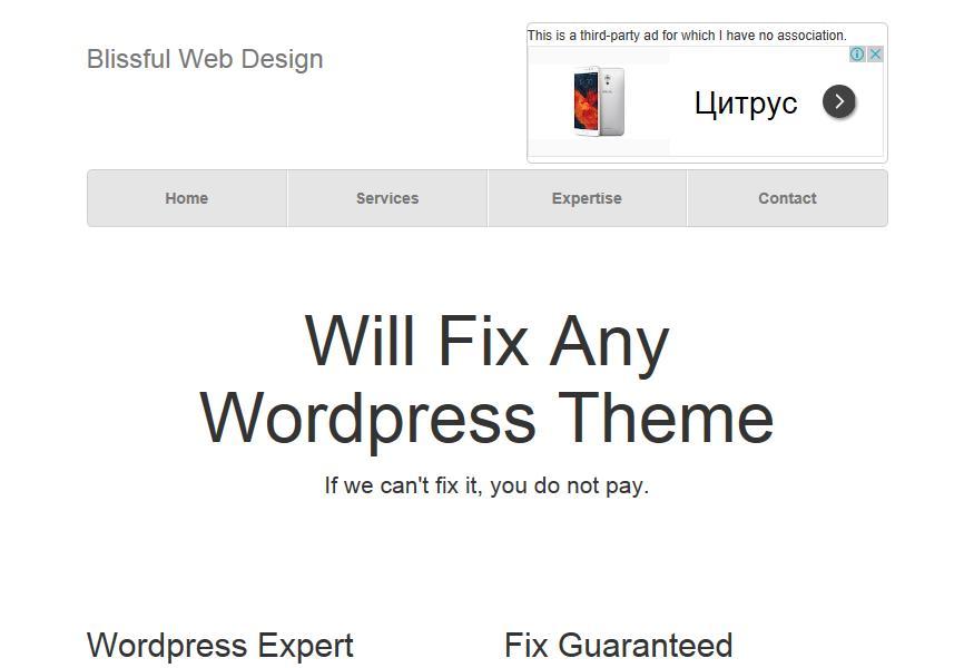 Blissful Web Design Reviews