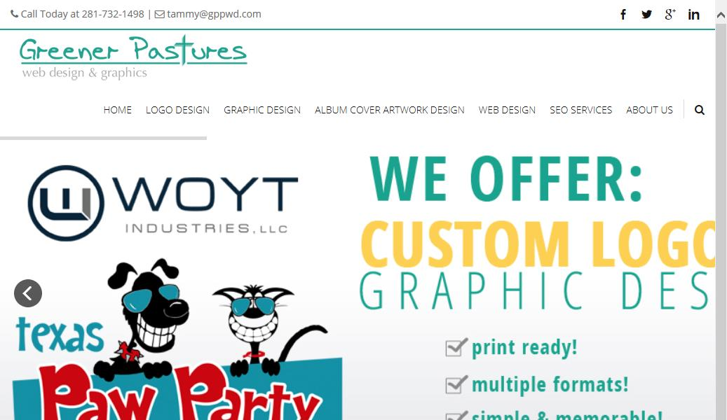 Greener Pastures Web Design & Graphics Reviews