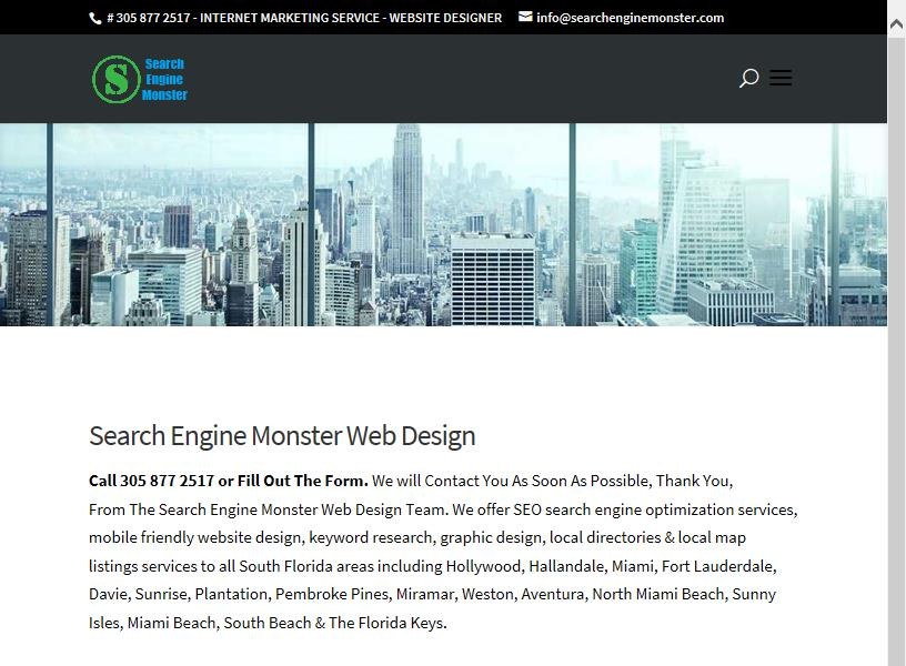 Search Engine Monster Reviews