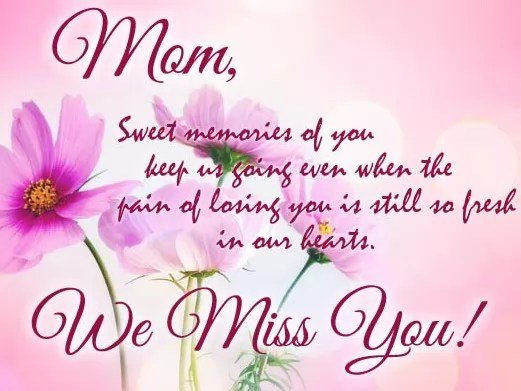 100+ Happy Birthday Mom In Heaven Quotes Messages  Poems