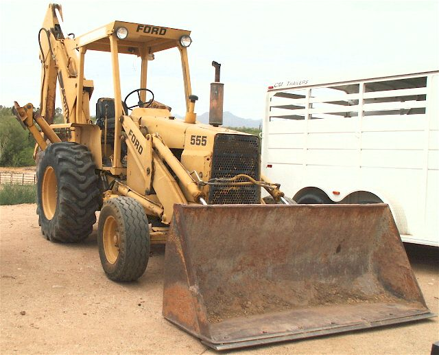 ford 555 backhoe wiring parts