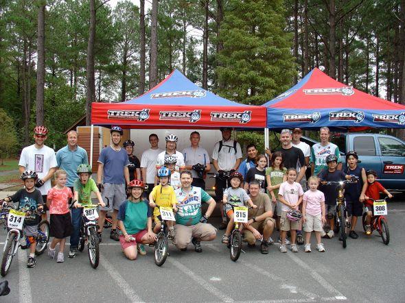 Take a Kid Mountain Biking Day 2007 at Harris Lake