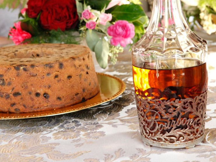 Paleo Virginia Whiskey Cake