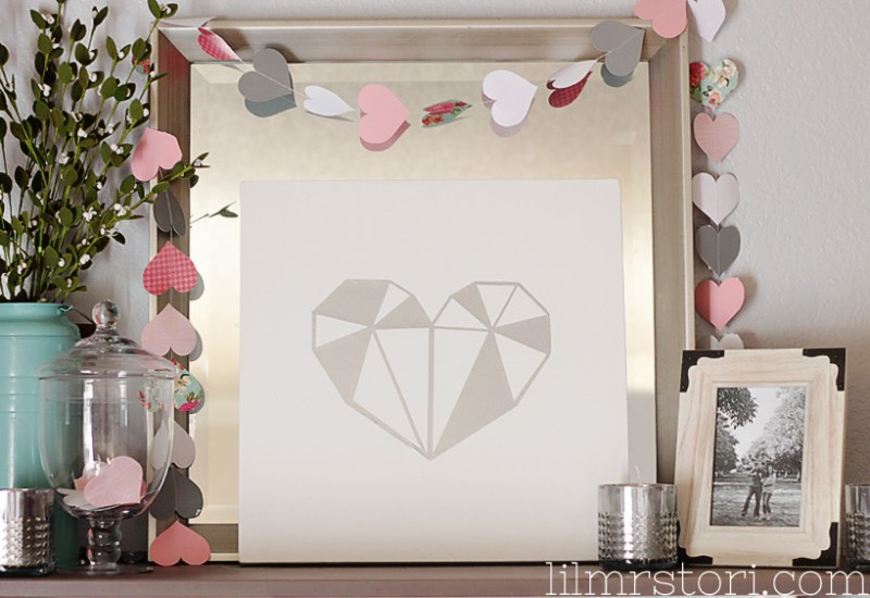 Heart Canvas Art