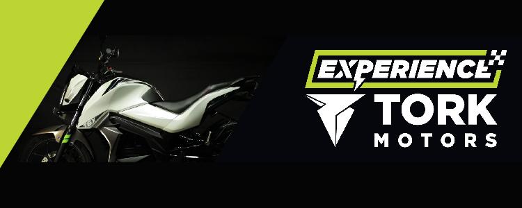 Experience Tork - Electric Bike T6X Tork Motors India