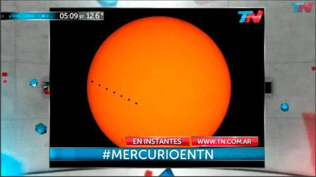 Transito de Mercurio 09/05/2016