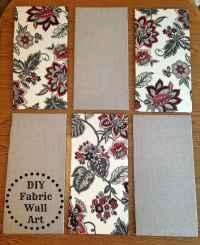 DIY Fabric Wall Art - Tornadough Alli
