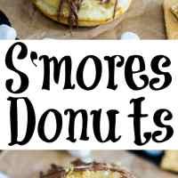 S'mores Donuts #DataAndAMovie