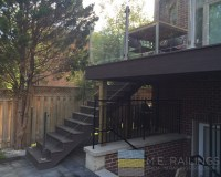Stainless Steel Railings with Glass - Toronto Railings ...