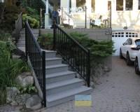 Aluminium Stair Railings with Glass - Toronto Railings ...