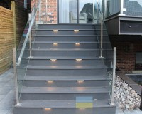 Glass and Stainless Steel Railings for Deck and Pool ...