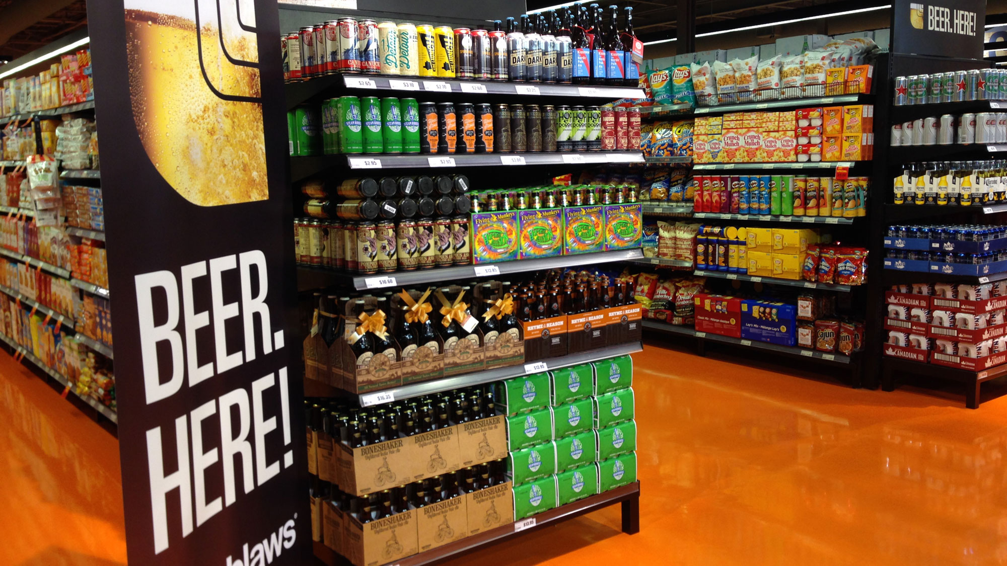 Canadian Stores Beer Cider Arriving In More Ontario Grocery Stores By