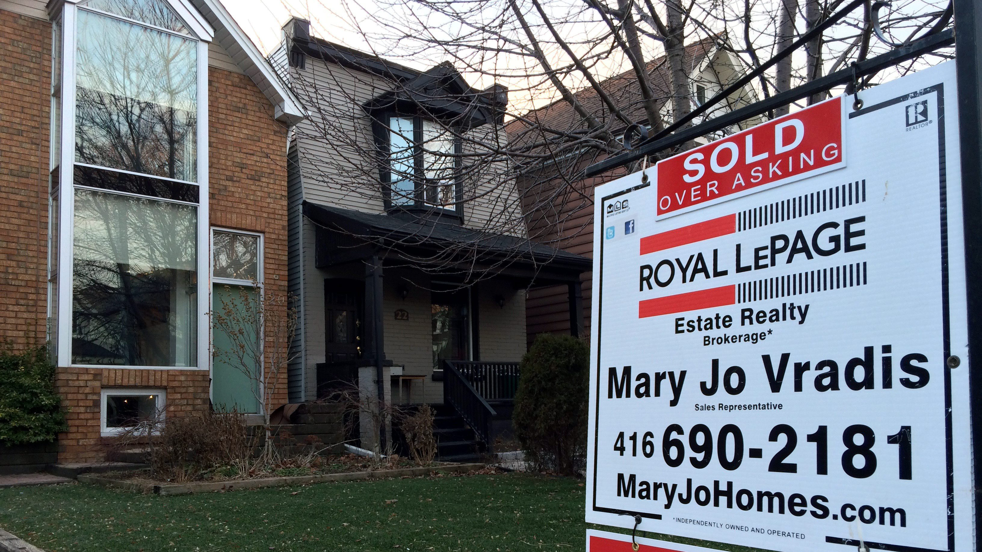 Home Bank Of Canada Toronto Area Home Prices Soar In March Average Price Jumps