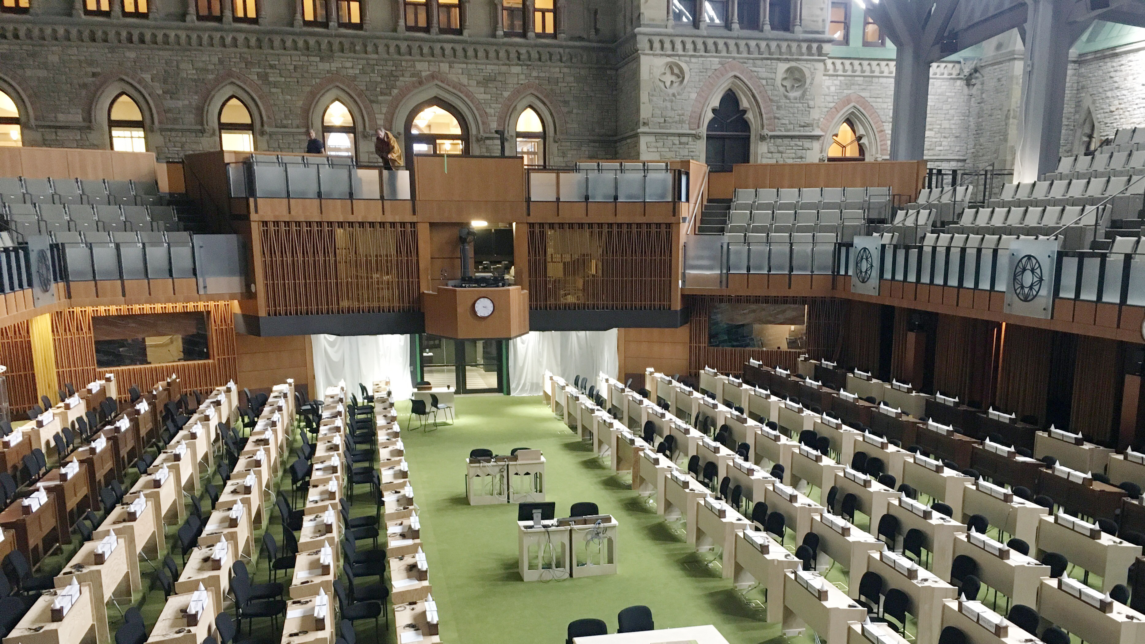 House Builders Ottawa Sneak Peek At Newly Renovated West Block Of Parliament