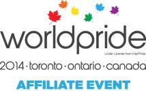 WorldPride affiliate event logo