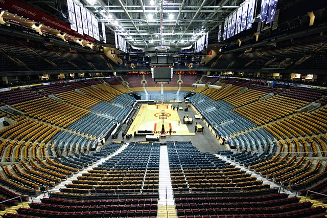 From Ice Rink To Basketball Court At The Acc