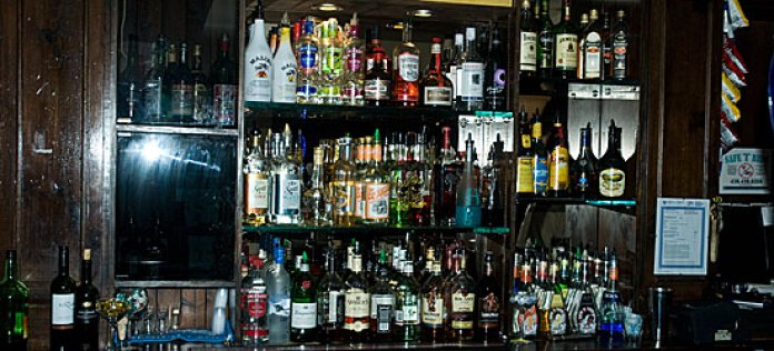 The Olde Stone Cottage has a wide variety of liquor choices to take your pick from.