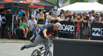 BMXers, skateboarders, wakeboarders and musicians rock the crowd at Wakestock. The 13th edition of the festival took place at Millenium Park in Collingwood Harbour on Aug. 6, 7, and 8.