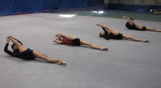 Canadian Junior Rythmic Gymnastics team