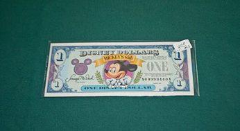 Disney collectible money