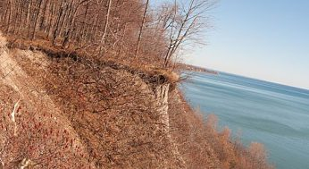 The man who recently attempted to base-jump from the Bluffs was left hanging 200 feet in the air before he was rescued.