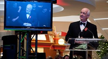 Comedian and Scarborough resident Colin Mochrie hosted the Nov. 17 unveiling ceremony at The Scarborough Town Centre.
