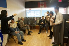 By far the largest minority group in Scarborough-Agincourt is Chinese, making up almost 40 per cent of the population.