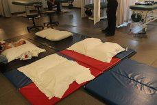 Infant Massage Clinic at Centennial College