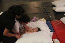Priya Kumar talks to baby Sabrina