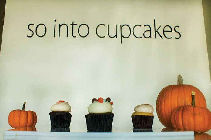 The counter of So Into Cupcakes