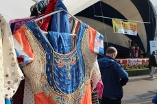 This year's Toronto Mela Summer Festival featured a market of vendors and small businesses that had clothing, jewellery and handmade crafts for sale.
