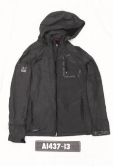 Point Zero black jacket worn by the unidentified deceased man.