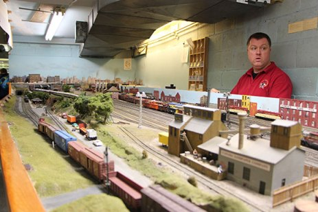 It is a must to have somebody watching over all the trains. During open houses, a lot of trains are running at once, and therefore someone must be overseeing everything to make sure the trains do not bang into each other.