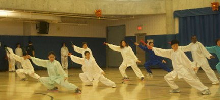 A common pose demonstrated here in this Tai Chi Technique.