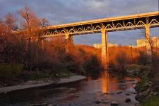 A photo by local photographer, Susan Drysdale, of Millwood Bridge.