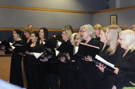 VOCA Chorus of Toronto performs to start off the 2016 Agnes Macphail Award Ceremony.