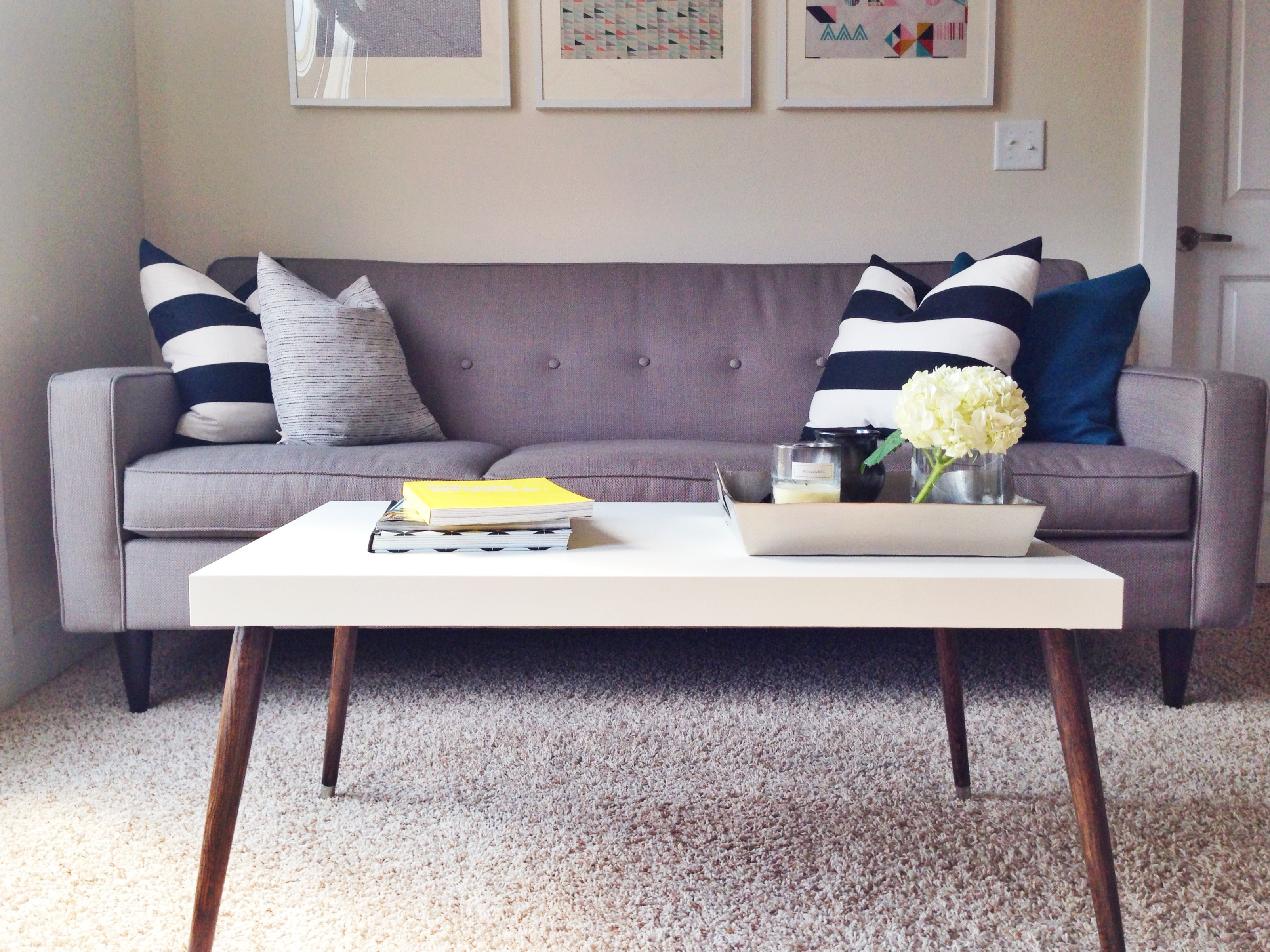 Ikea Sofa Round Rock Awesome Ikea Hack Of The Week A 60 Sleek Midcentury Coffee Table