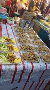 Food at the Phuket Sunday Night Market Thailand