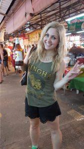 Singha Beer Phuket Sunday Night Market Thailand