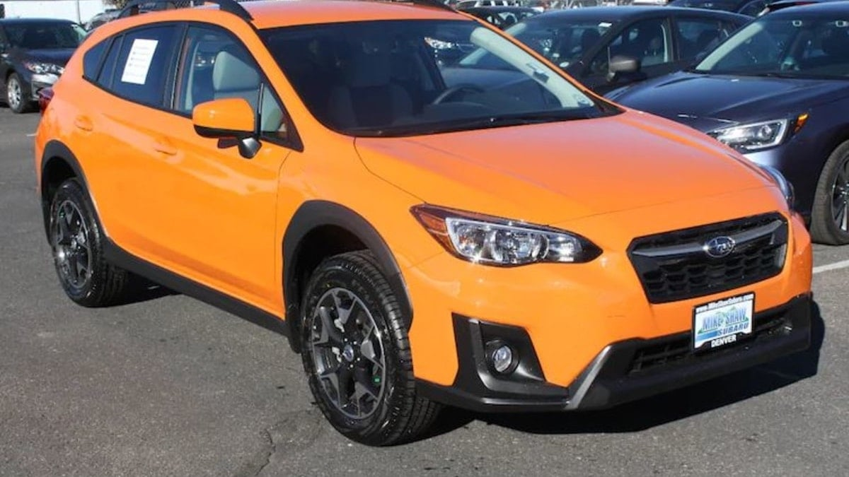 Cuv Car Want The Lowest Cost To Own Awd Cuv Buy A Subaru Crosstrek