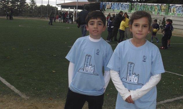 Dos miembros del quipo patrocinado por Torrelodones.info