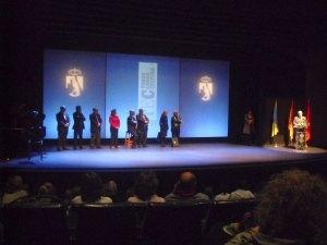 El alcalde de Torrelodones, Carlos Galbeño puso punto final a la entrega de premios