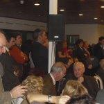 Asistentes a la proclamación de Laorden como candidato a Alcalde